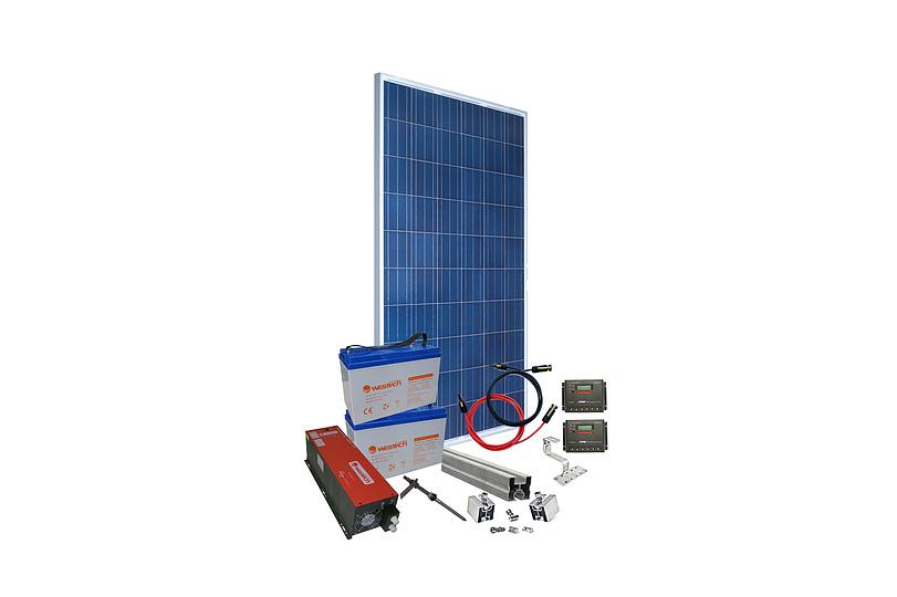 Instalatie panouri fotovoltaice monofazate 3 kW Off-Grid