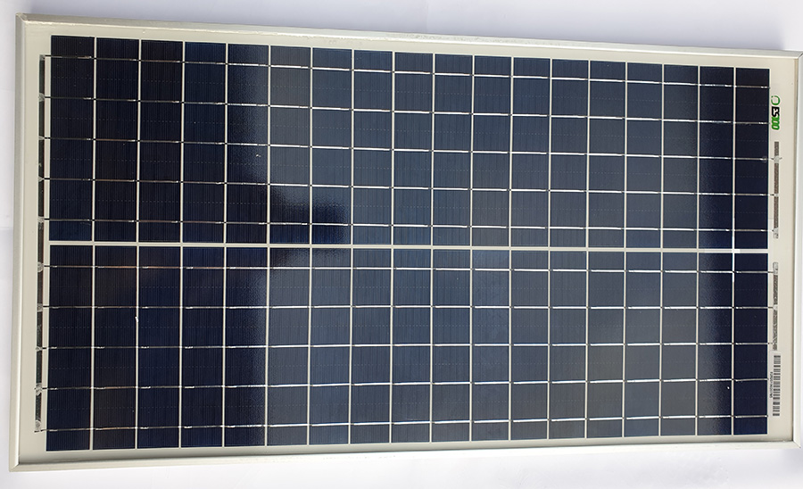 Panou fotovoltaic 30 W pentru iluminat cu bec LED 7W, 12V, maxim 8 ore