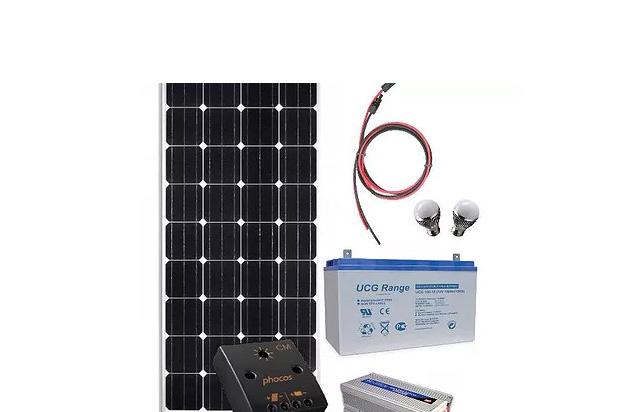 Panou fotovoltaic mobil 330Wh, 12V