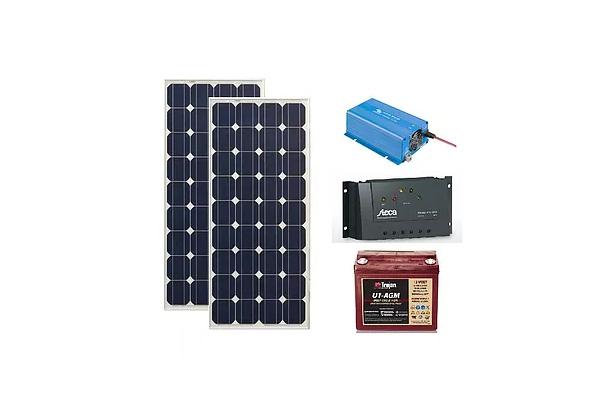 Panou fotovoltaic mobil 400Wh, 220V