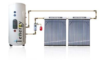 Kit Panou solar split cu boiler monovalent de 200 L