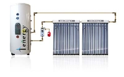 Panou solar split cu boiler monovalent de 300 L